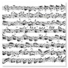 Glass cleaner Bach Sheet music white