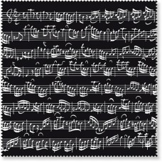 Glass cleaner Bach Sheet music black