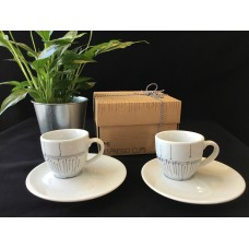 Set 2 espresso cups