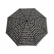 Black folding umbrella Bach music