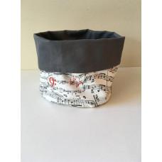 Fabric Basket - Nutcracker