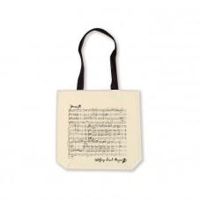 White Mozart Shopper Bag