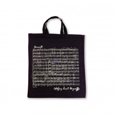 Black Mozart Tote Bag