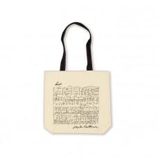 White Beethoven Shopper Bag