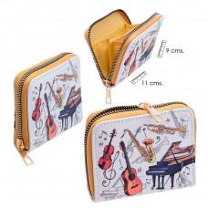 Small zip purse - Instruments