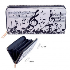 Zip purse - Music