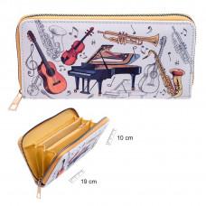 Zip purse - Instruments