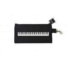 Pencil case black keyboard