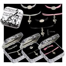 Cord Bracelet G-clef
