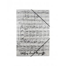 White Folder Mozart Sheet Music