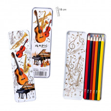 Color pencil box - Instruments