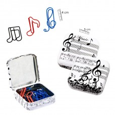Musical shapes clips box